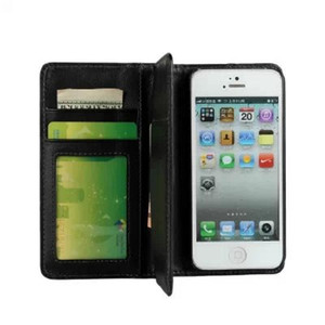 Luxury Multi-functional Multi-flip Wallet book Style Leather Case TOP Quality Cover For iphone 5S 5 4S 4 6 6s Plus 7 8 SE