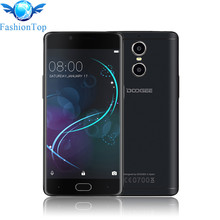 """DOOGEE Shoot 1 5.5"""" 4G Smartphone Android 6.0 MTK6737T Quad Core Mobile Phone 2GB+16GB Dual Back Camera Fingerprint Cell Phone"""