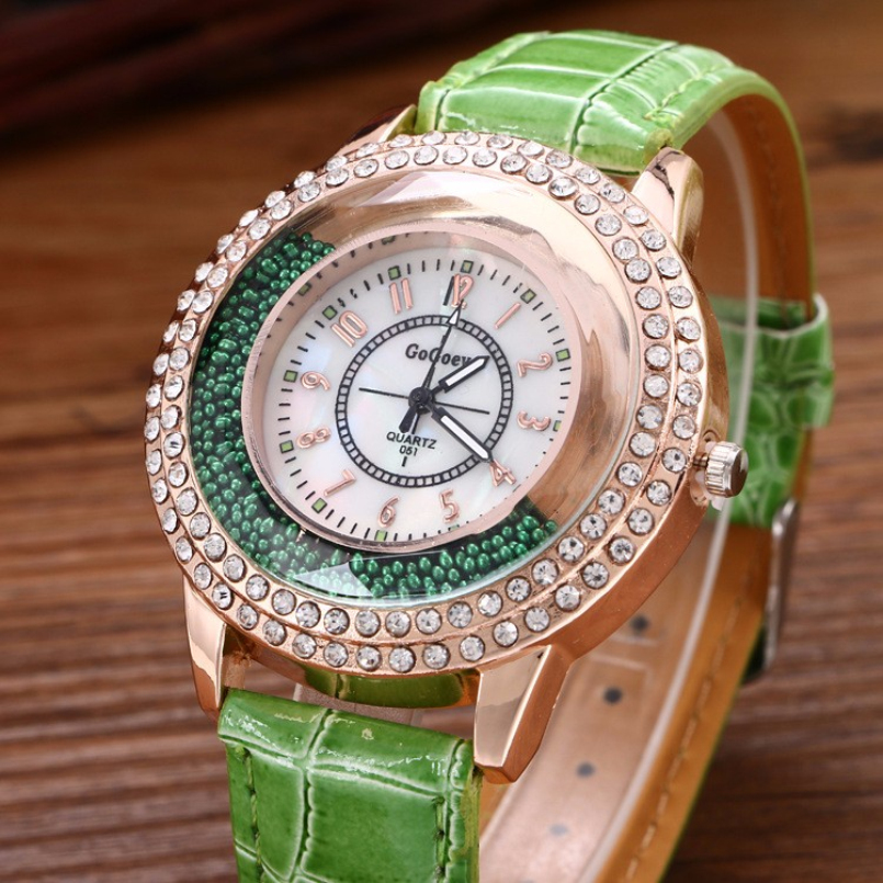 Excellent Quality Quartz Watches Women Gogoey Brand Luxury Leather Watches Ladies Casual Watches relogios femininos reloj mujer