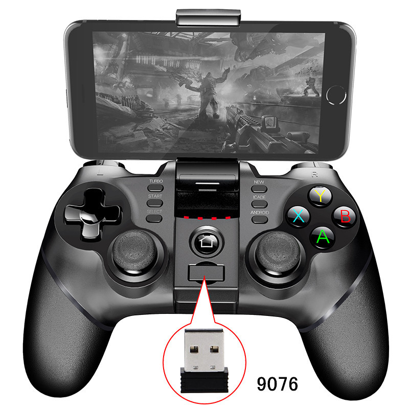 2.4G Wireless+USB Wired+Bluetooth Gamepad PC Gaming Controller Game pad Joystick for PS3 Android IOS Phone Pad PC Smart TV