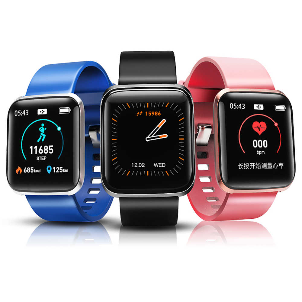 Fitness Tracker Smart Band Watch W5 Heart Rate Blood Pressure Monitor Alarm Clock Weather Forecast Waterproof Sport Smartwatch