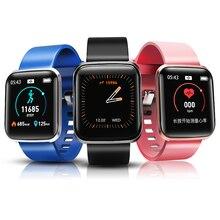 Фитнес трекер Смарт часы W5 сердечного ритма крови Давление монитор будильник прогноз погоды Водонепроницаемый спортивные умные часы