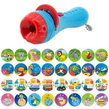 Slide Projector Kids Story Flashlight Toy Projector Lamp Baby Sleeping Story Light Education Kids Light Toys