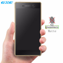 No Fingerprint Matte Tempered Glass Screen Protector for Sony Xperia Z1 Z2 Z3 Z4 Z5 Premium M4 M5 C5 Frosted Film(China)