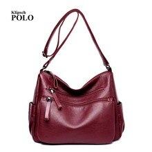 Marke Echtem Leder Handtasche Designer Schaffell Frauen Tasche Mode Umhängetasche Lässig Einkaufstasche