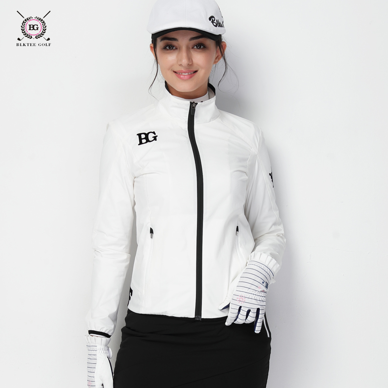 Autumn and winter new golf apparel women's windbreaker golf windproof warm long-sleeved jacket ladies shirt pgm autumn winter waterproof men golf trousers thick keep warm windproof long pants vetements de golf pour hommes golf clothing