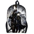 "17""Japanese Anime Black Butler Backpack Children School Bags Cartoon Teenager Backpacks Backpacks Travel Backpack Student Bag"