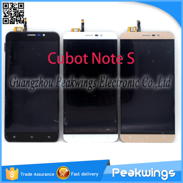 "5.5""inch 1280*720 Tested Quality Touch For Cubot Note S LCD Display Screen"