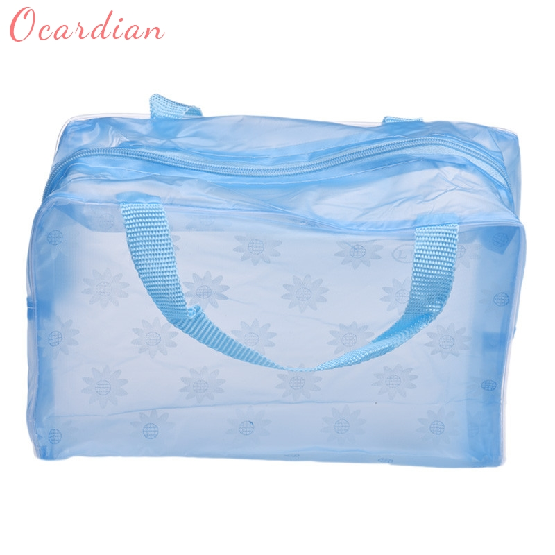 Ocardian 2017 New Fashion Portable Makeup Cosmetic Toiletry Travel Wash Toothbrush Pouch Organizer Bag Dropship 170907