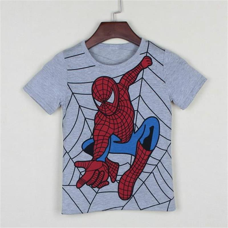 New-2017-boys-t-shirt-popular-hero-cotton-short-sleeved-t-shirt-printing-childrens-cartoon-gray-kids-boys-childs-clothes-2