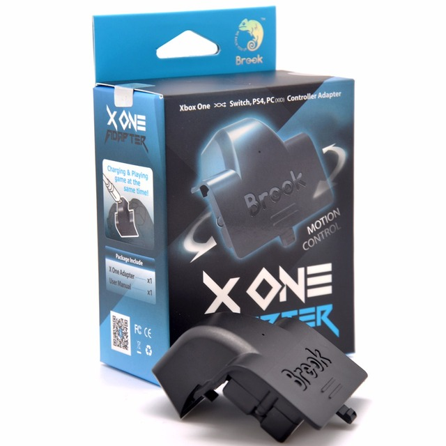 Brook X Een Adapter Voor Xbox Een Draadloze Adapter/Opladen Batterij Spelen Xbox One/Xboxone Elite Draadloze Controller op Schakelaar/PS4