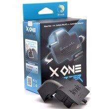 Brook x um adaptador para xbox um adaptador sem fio/bateria de carregamento jogar xbox um/xboxone elite controlador sem fio no interruptor/ps4