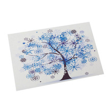 Western food Insulation pad Household table mat Kitchen ornament Rich tree pattern PVC
