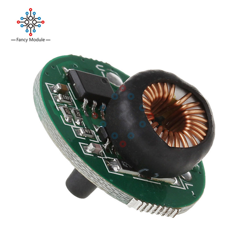 20MM 10W DC 3-12V Power Supply Lighting Transformer Switch Flashlight Driver Board T6/U2 XM-L2/U2 LED