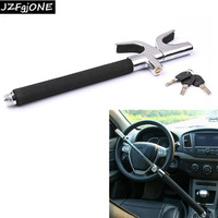Auto Car Lock Steering Wheel Lock Anti Theft Security Lock with Safty Hammer Anti Theft Devices