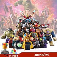 30pcs/set sell building blocks figures superhero starwarsIII Educational Anime Compatible With Legoe Baseplate for gift