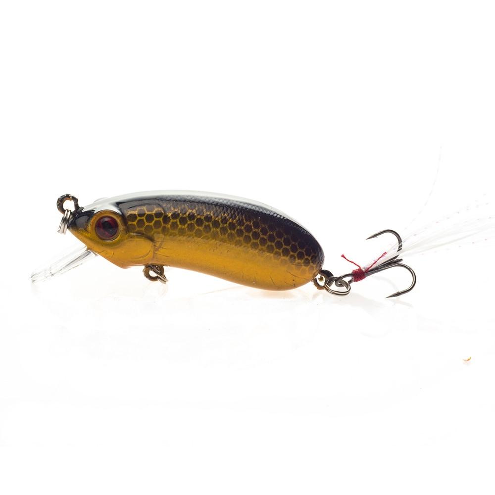 SEALURER New Peshkimi Minow Lure 6cm 10.1g High Quality Floatinging - Peshkimi - Foto 4
