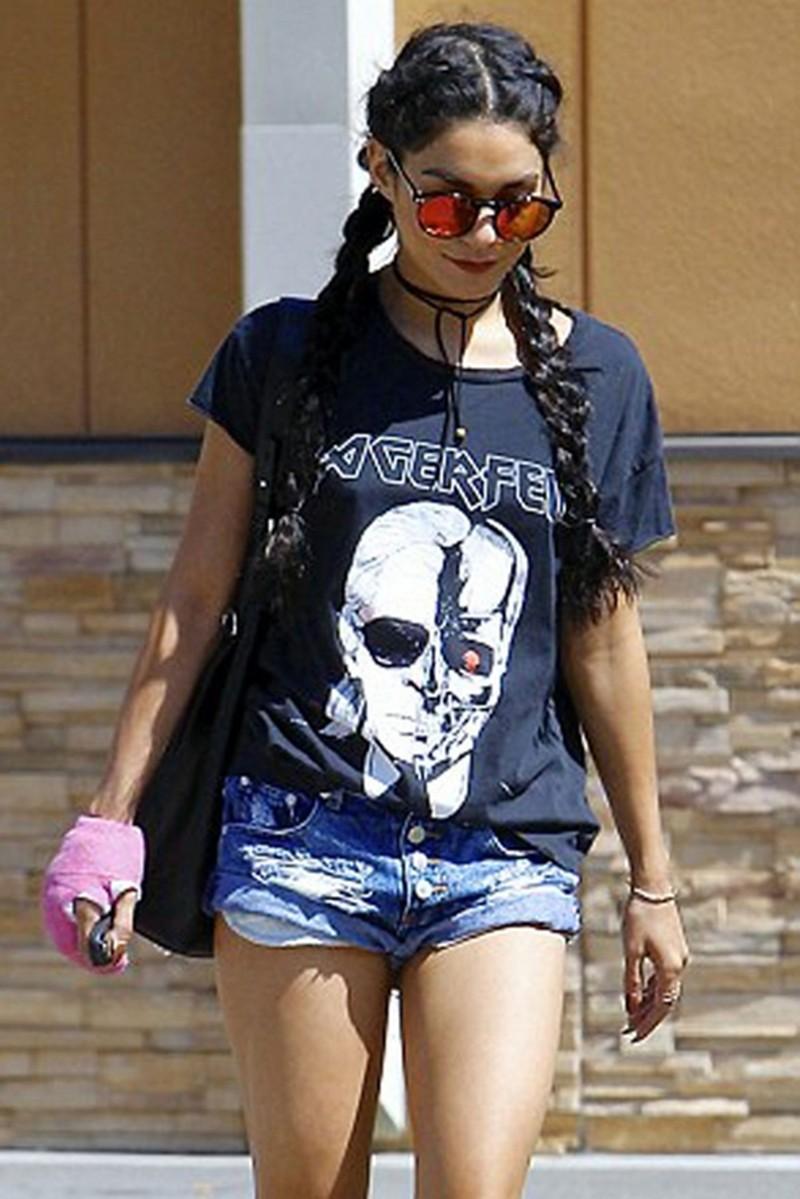 HTB1QQg0MXXXXXXIXFXXq6xXFXXX4 - New Skeleton Head Printed Tee In Black Zombie Skull Punk Rock