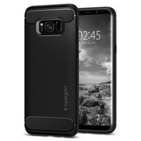 100 Original SPIGEN Rugged Armor Case For Samsung Galaxy S8 5 8 Inch With Retail Package