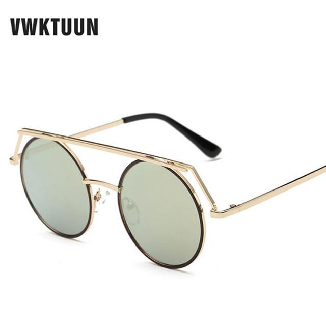 Aliexpress.com : Buy VWKTUUN Round Sunglasses Women Men ...