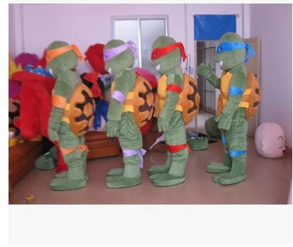 There are turtle shells Turtle Mascot Costumes Unisex cartoon High quality EVA
