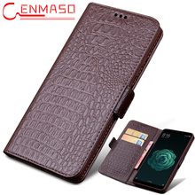 For Xiaomi Mi Max 3 case cover Luxury Genuine leather flip wallet phone case For Xiaomi mi MAX3 vintage stand shockproof cases