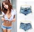 Nueva moda mujeres Sexy Summer caliente desgastados Short Denim Shorts tamaño sl