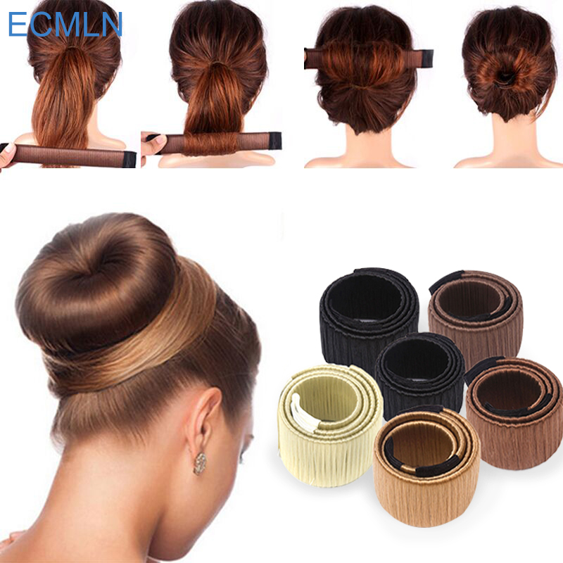 ECMLN Hair Accessories Wig Donuts Head DIY Tool Hair Band