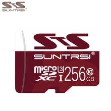 Suntrsi Tarjeta Micro SD 256 GB Tarjeta de Memoria de hasta 95 MB/S U3 alta Velocidad 128 GB/64 GB/32 GB/16 GB Microsd clase 10 hasta 80 MB/S la Tarjeta DEL TF