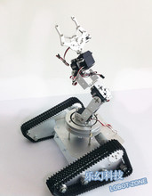 Robo-Soul TK-6A Crawler Robot with Tank Chassis+2 x Motors + 6 Degree Mechanical Arm +6 x MG996R Servos