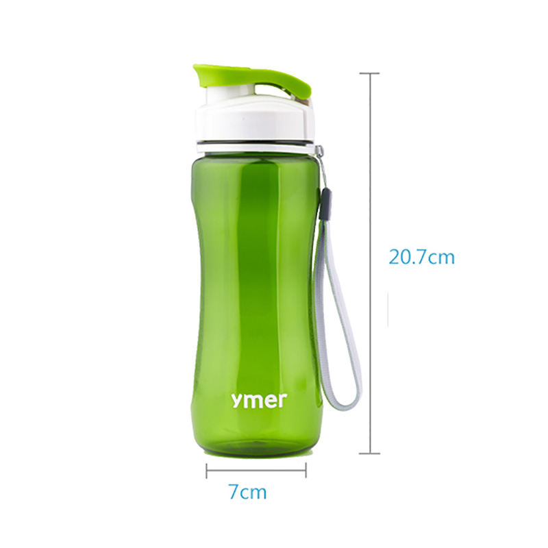 560ml/590ml Leak-proof Watter Bottle With Rope Drinkware Unbreakable BPA free Plastic Water bottle leak-proof ...