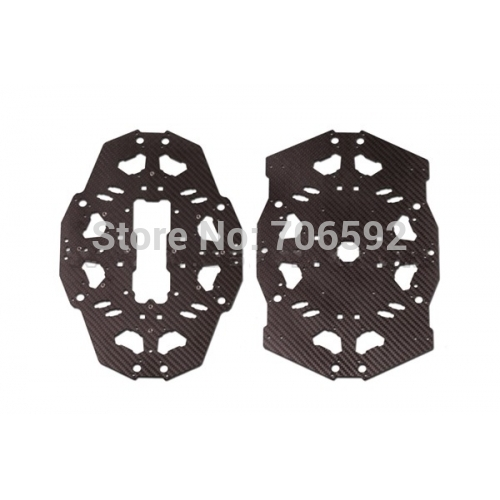 Tarot T18 OCTA copter FULL carbon main cover board TL18T03 tator rc x4 x8 quad x6 hexa copter carbon fiber main plate upper cover board tl4x006 tl6x003 tl8x019