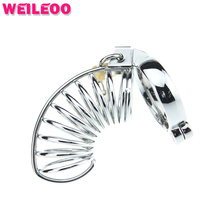 metal male chastity belt male chastity device chastity cage cock cage penis cage adult sex toys for men sex toys for couples 009