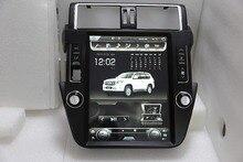 LaiQ 12.1 Quadcore Car dvd player 1280x800 Vertical Screen Tesla style stereo GPS Navigation for Toyota Prado2010-2018