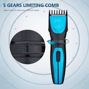 Image 4 - TINTON الحياة الكهربائية الشعر المتقلب طول قابل للتعديل قابلة للشحن مقص الشعر آلة قطع مقاوم للماء