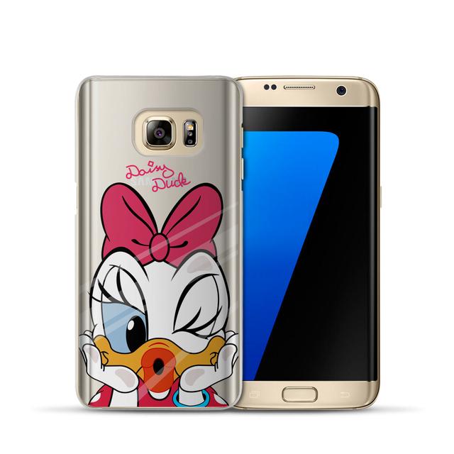 Mickey Minnie obal pre Samsung Galaxy S6 S7 S8 S9 – J3 J5 J7 – A3 A5 2016 2015 2017