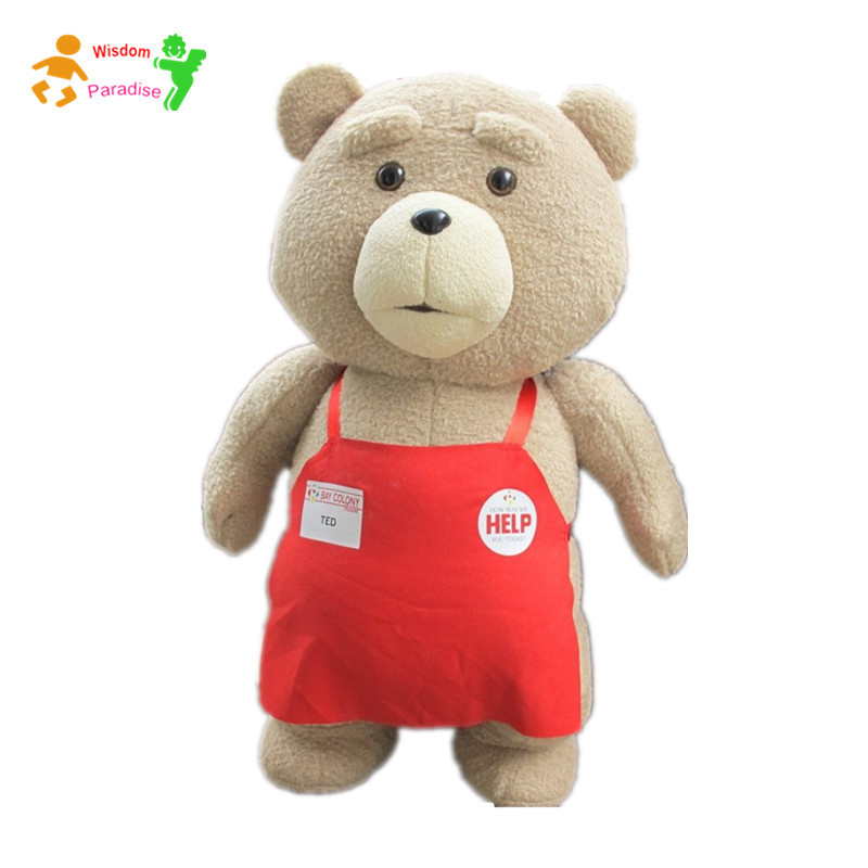 Toys For Ted : Movie giant teddy bear ted plush toys in apron