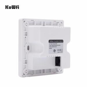 Image 4 - Routeur sans fil 300 Mbps dans le mur AP routeur intérieur mur intégré sans fil WiFi routeur répéteur Extender avec Port USB