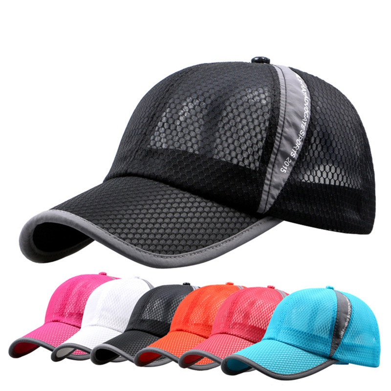 Hollow Breathable Fishing Cap Mountaineering Hat Sunshade Quick-drying Breathable Sports Cap Summer Fishing Cap Sportswear