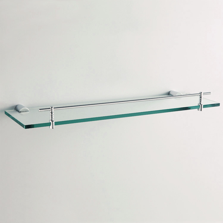 Popular corner glass shelf buy cheap corner glass shelf for Bathroom glass shelves