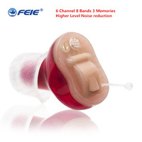 No Noise Small in ear Sound Enhancer Hearing Aids Audifonos Para Sordos Hear Aid Digital Programmable Medical Instrument S 16A