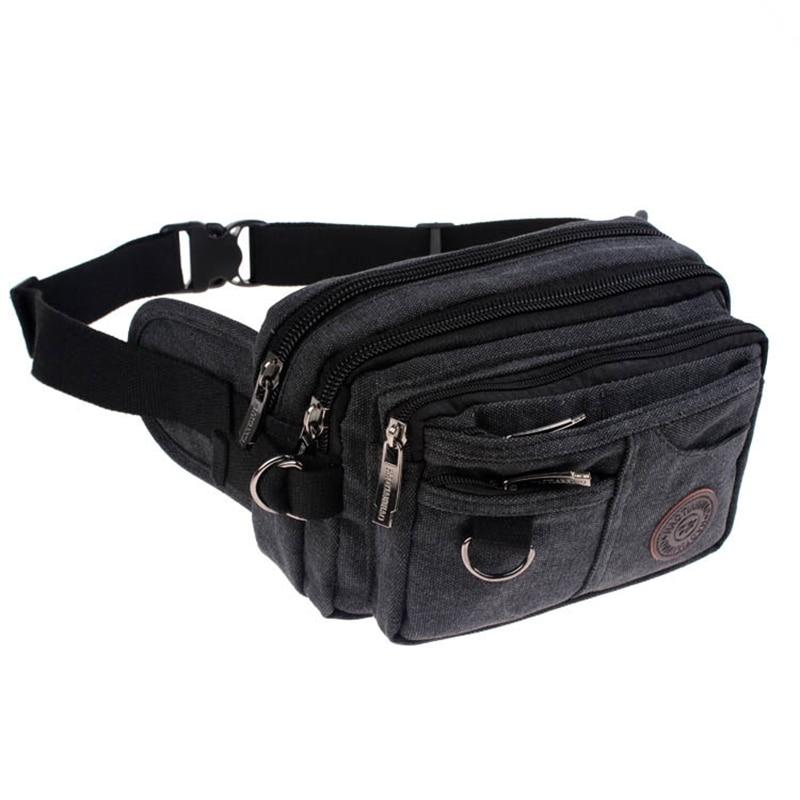Spot wholesale wholesale manufacturers build new washed canvas sports bag man bag chest pockets
