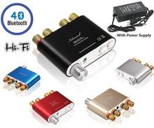 2017 Dernière Nobsound HiFi 100 W TPA3116 Mini Bluetooth 4.0 Numérique Amplificateur Amp Audio pour La Maison Avec Alimentation LIVRAISON GRATUITE