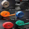 "2""x5m Titanium Temp Exhaust Heat Wrap 5 Colors Heater Resistant Downpipe 10 Ties Car Motorcycle Tape Replacement"