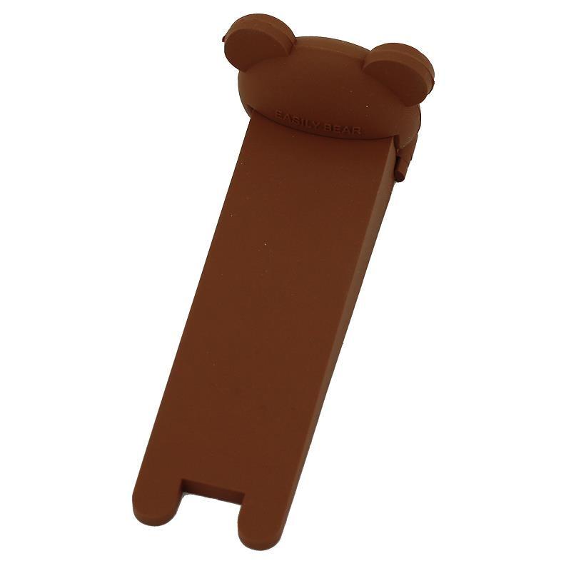 Children Silicone Safety No Finger Pinch Door Stopper Cute Bear Cartoon Safe Children