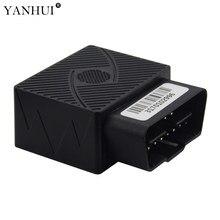 Plug and Play OBD II 2G GPS Tracker CCTR-831 9-40 V DC apropriado para o caminhão do carro Construído em alarme de bateria recarregável para o poder para baixo