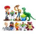 10 unids set Toy Story WOODY Buzz Lightyear Jessie Rex Lotso muñecas lindas PVC  figura acadee03a95
