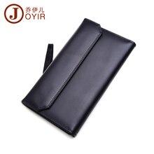 2017 Men Genuine Leather Wallet Fashion Solid Hasp Clutch Purse Long Wallet Phone Card Holder Coin Purse handbag men 9351