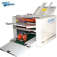 ZE 8B/4 Automatic Paper Folding Machine max for A3 paper+high speed+4 folding trays+100% warranty
