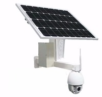 Solar Powered 4G Camera Outdoor WIFI Wireless IP HD 1080P Supports SIM card for CCTV Security surveillance with TF Card